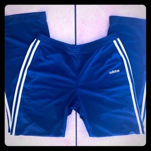 Adidas Mens Track pants Medium Navy Blue